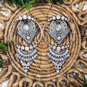 Aldo Rhinestone Earrings